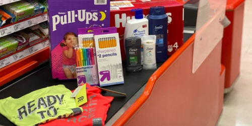 Best Target Weekly Ad Deals 8/23-8/29 | Stock up on Cheap School Supplies, Diapers, Apparel & More