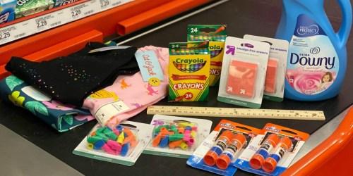 Best Target Weekly Ad Deals 8/9-8/15 | Big Savings on Kids Apparel, 50¢ School Supplies, & More
