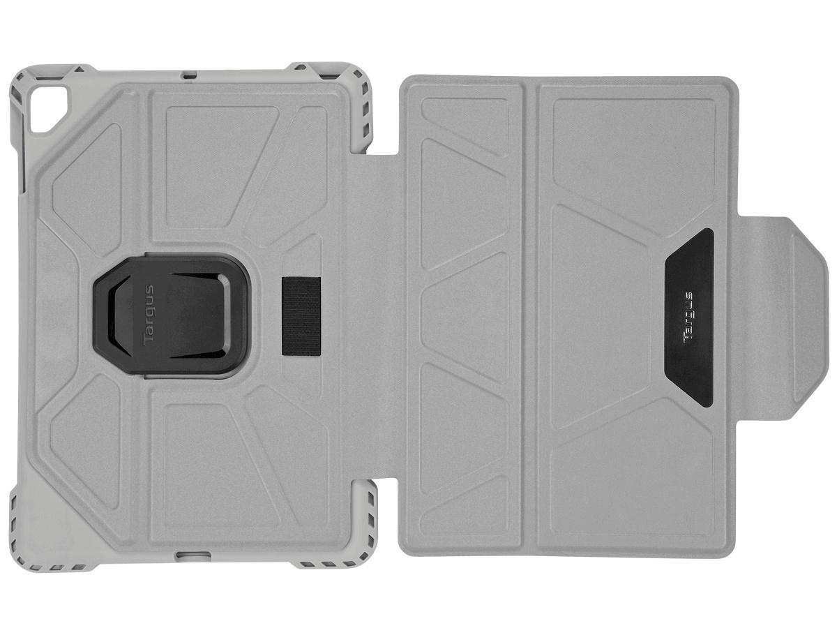 opened up grey targus pro tek case