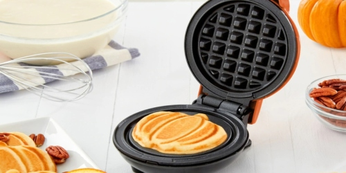 Dash Mini Waffle Makers from $7.79 Shipped for Kohl's Cardholders (Regularly $20)