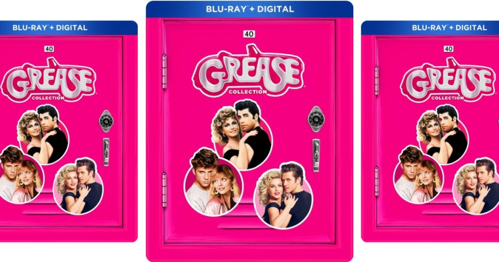 The Grease Collection 40th Anniversary Steelbook Edition