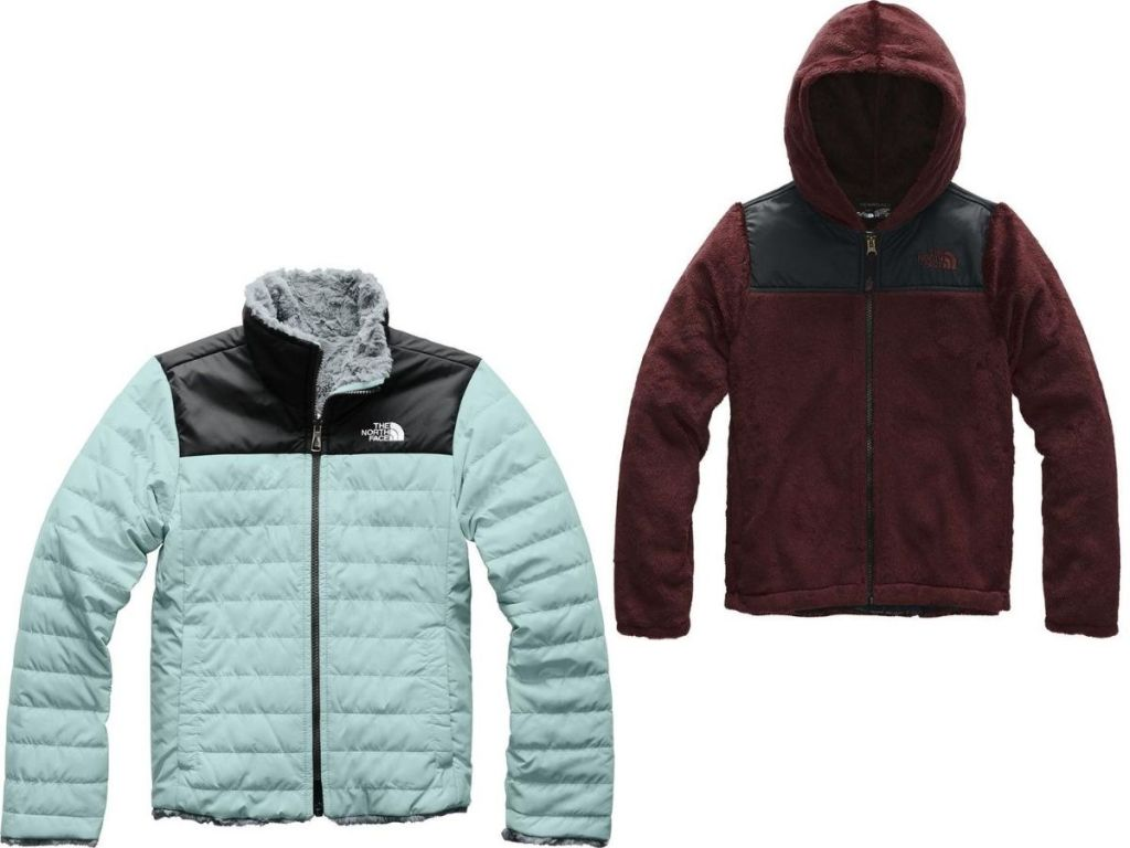 Two The North Face Girls Jackets