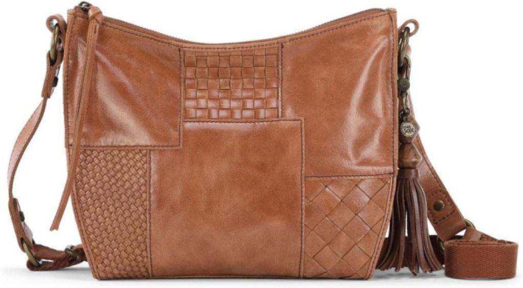 brown the sak crossbody leather bag