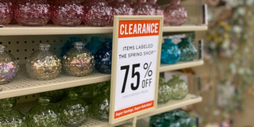 75% Off Spring Decor & Summer Toys at Hobby Lobby