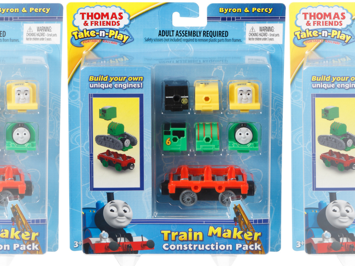package of Thomas & Friends Adventures Train Maker Construction Pack (2)