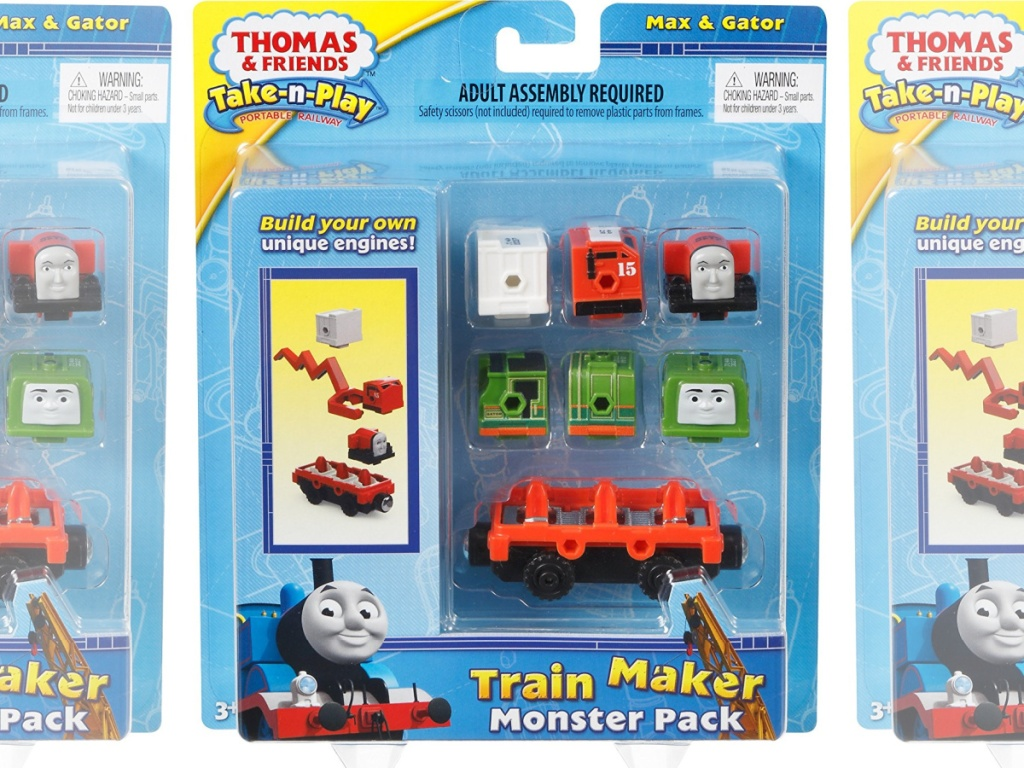 package of Thomas & Friends Adventures Train Maker Monster Pack