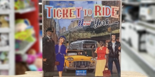 Ticket to Ride New York Board Game Possibly Only $5.98 at Target (Regularly $20)