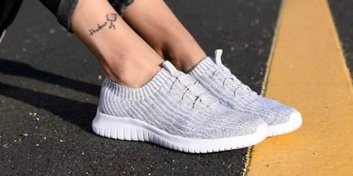 Tiosebon Women's Slip-On Sneakers Just $15.50 (Regularly $31)