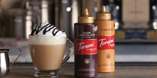 Torani Caramel Sauce 16.5oz Bottle 4-Pack Only $17.63 Shipped on Amazon