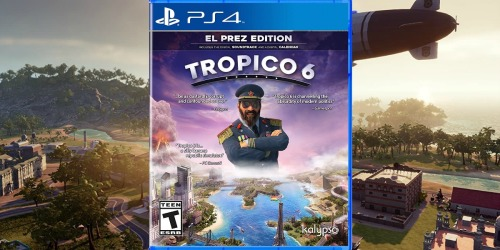 Tropico 6 Video Game Only $12.99 on Amazon (Regularly $60) | PlayStation 4 or Xbox One