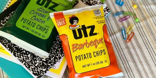 Utz Variety Snack Pack 42-Count Only $12.98 Shipped on Amazon | Just 31¢ Per Bag