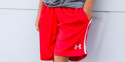 Under Armour Boys Shorts from $12.98 Each Shipped (Regularly $22)
