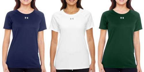 Under Armour Women's Locker Tees Only $12.99 Each Shipped (Regularly $30)