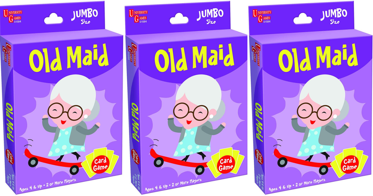 University Games Jumbo Sized Old Maid Card Game