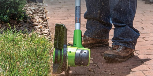 Greenworks Cordless String Trimmer w/ Battery & Charger Only $69.55 Shipped on Amazon (Regularly $119)