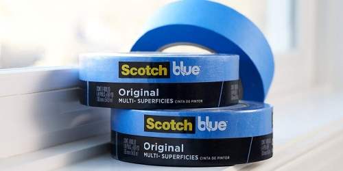 Scotch Blue Painter's Tape 6-Pack Only $13.79 on Amazon | Great for DIY Projects