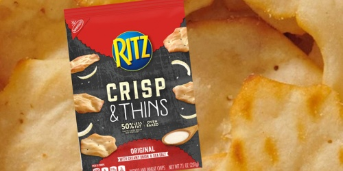 Ritz Crisp & Thins 6-Pack Only $13.83 Shipped on Amazon