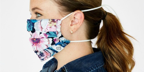 Vera Bradley Non-Medical Face Masks Only $8 + Free Shipping | Adult & Youth Sizes