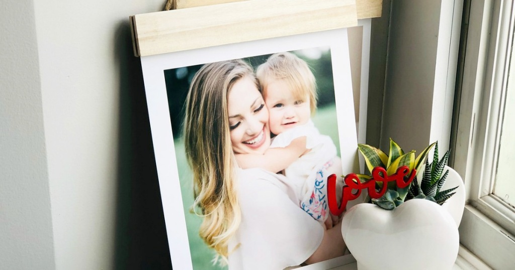 Wood Hanger Board Photo Print Only $7.50 + FREE Walgreens Pickup | Up to 60% Off Photo Gifts
