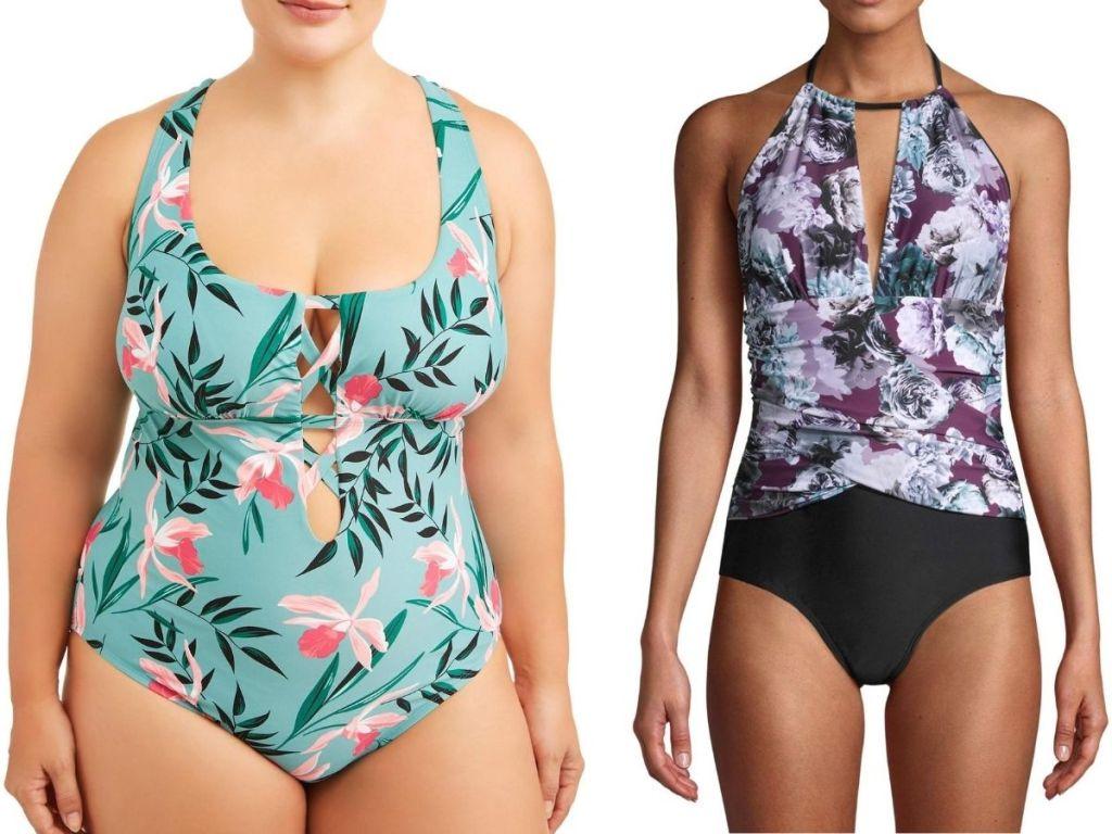 two women's swimsuit