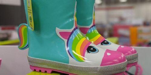 Kids Lined Rain Boots Only $9.98 Shipped on SamsClub.com