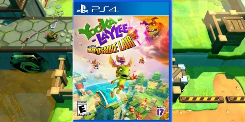 Yooka-Laylee and the Impossible Lair PlayStation 4 or Xbox One Game Only $13.99 on BestBuy.com (Regularly $20)