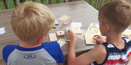 Get 75% Off a Young Woodworkers Craft Kit | Great for Kids 7-12 Years Old