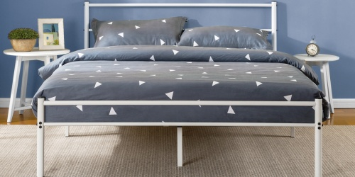 Zinus Metal Platform Beds from $60 Shipped on Walmart.com