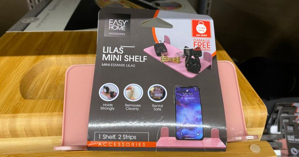 easy home lilas mini shelf
