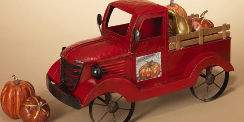 Antique Red Truck with 3 Seasonal Magnets Only $40.98 on Sam's Club