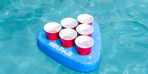 Floating Pool Pong Game Just $7.78 on Walmart (Regularly $20) | Fun for the Grown-Ups