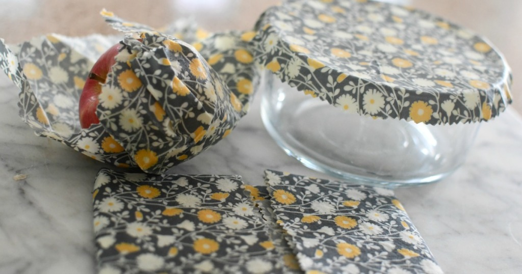 beeswax and fabric food wraps