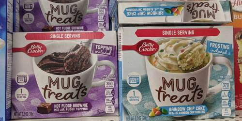 Betty Crocker Mug Treats Only $1 at Dollar Tree | Dessert In Less Than A Minute
