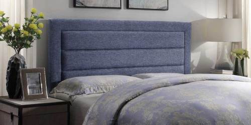 Linen Full/Queen Upholstered Headboard Only $56.95 Shipped on Lowes.com (Regularly $188)