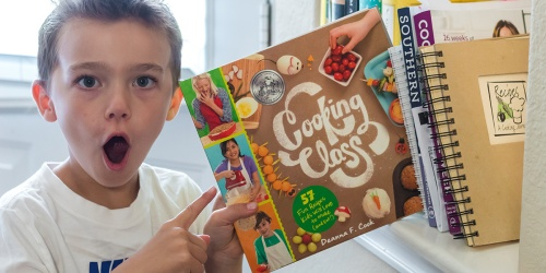 Get $5 Off Highly Rated Cooking Class Cookbooks & Let the Kids Make Dinner Tonight!