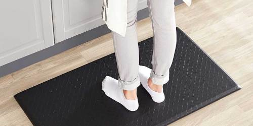 AmazonBasics Anti-Fatigue 5-Pack Comfort Mats Just $68.70 Shipped | Only $13.74 Each