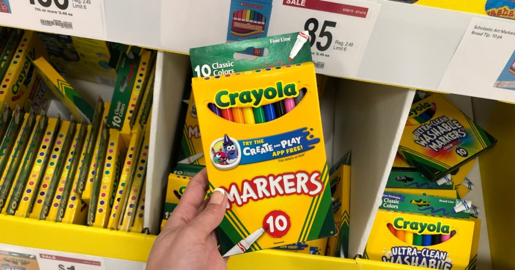 crayola markers 10-pack