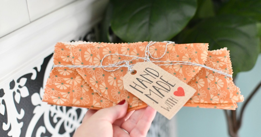 diy beeswax food wraps as a gift
