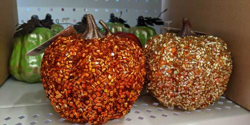 Fall Decor & Crafting Items Now Available at Dollar Tree | In-Store and Online