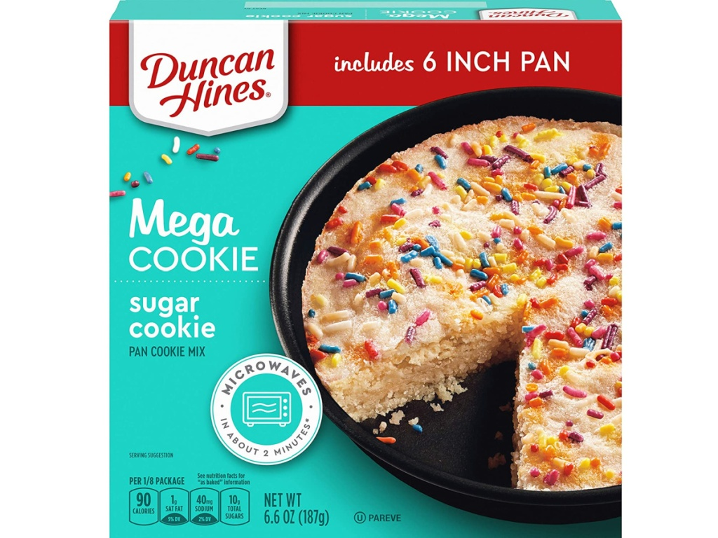 duncan hines mega cookie
