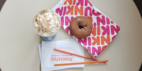 FREE Classic Donut w/ Drink Purchase at Dunkin'