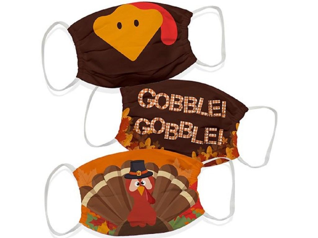 thanksgiving themed masks