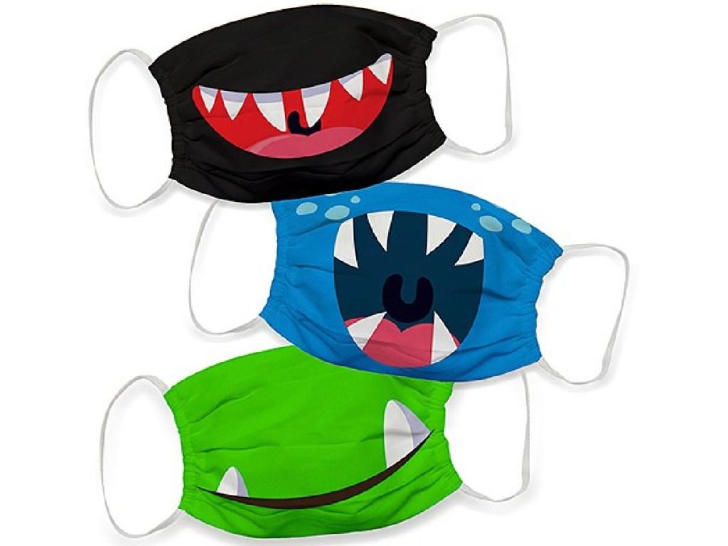 monster mouth kids masks