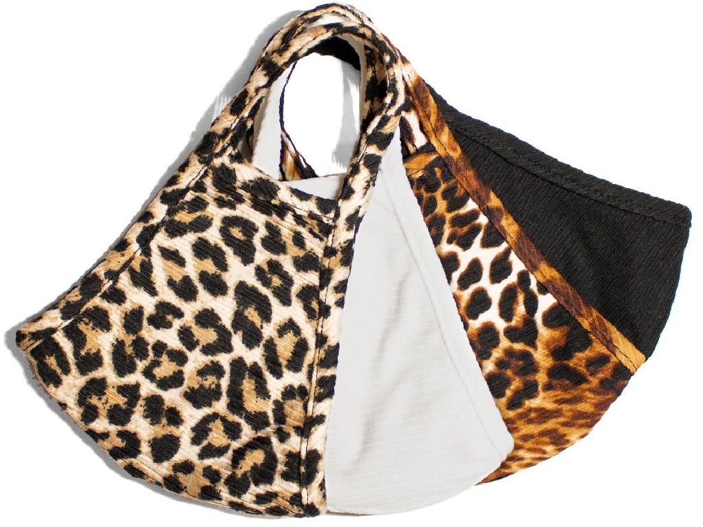 leopard themed masks