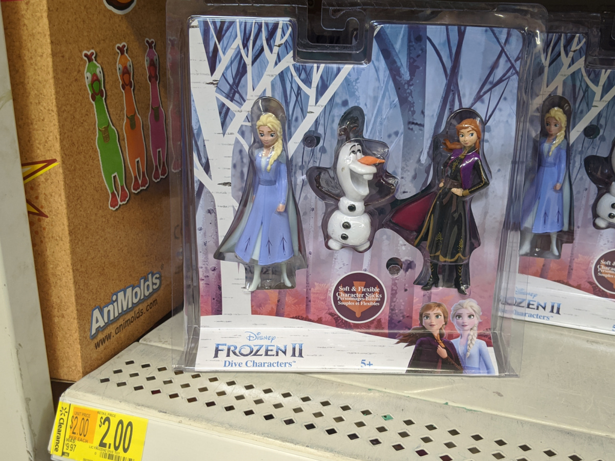 toy packaged and sitting on store shelf