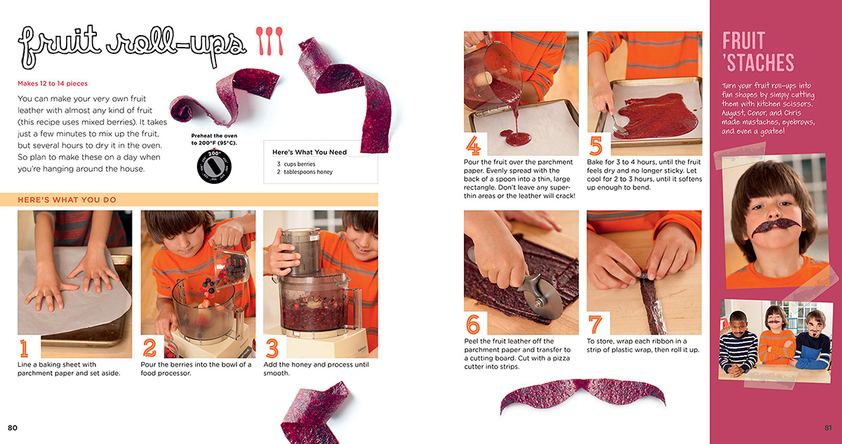fruit leather page from cooking class