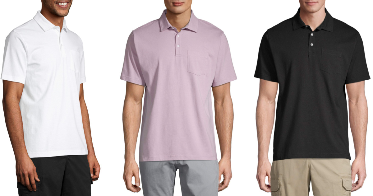 George Men's Polo Shirts Only $5.50 on Walmart.com | Sizes up to 3XL