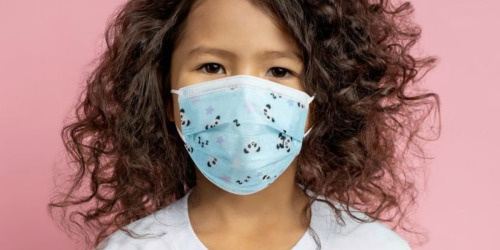 50 Kids Disposable Face Masks Just $18 Shipped (Only 37¢ Each) | Stock up for School