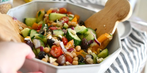 The Best Greek Chickpea Salad – Feed Your Inner Foodie!