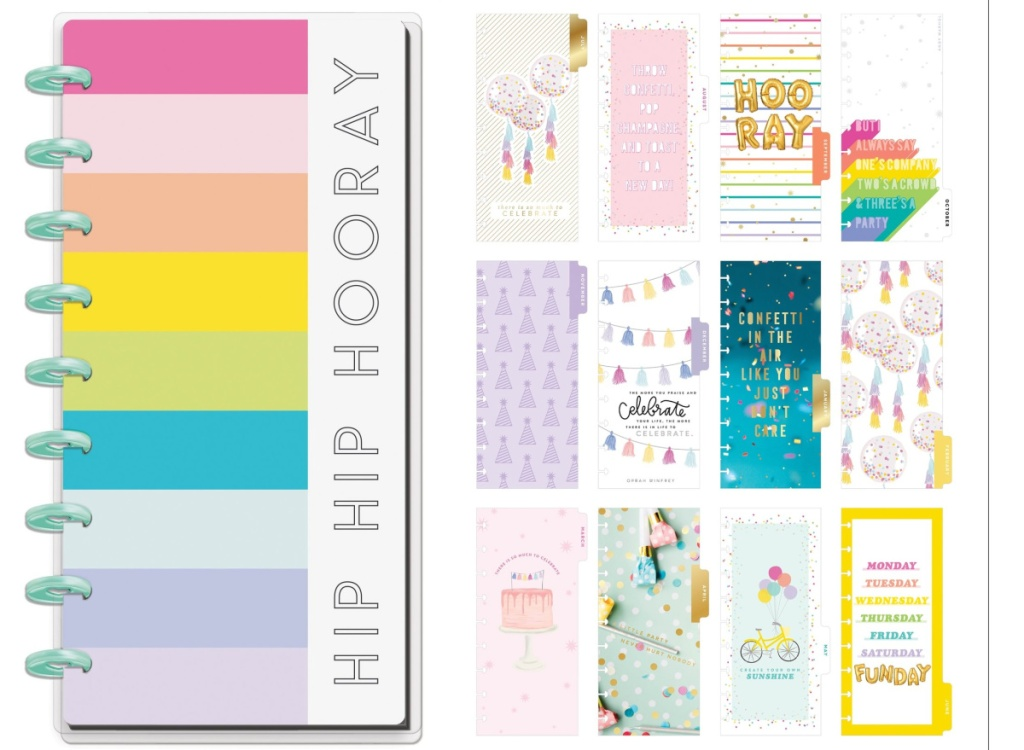 hip hip hooray planner and divider